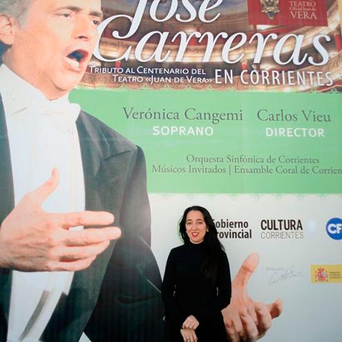 Concierto de José Carreras en Corrientes