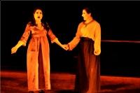 Leonora y su amiga Ines