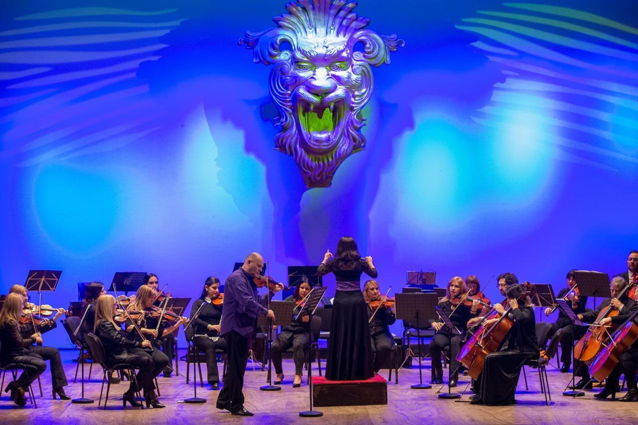Oleg Pishenin con la Sinfónica de Corrientes